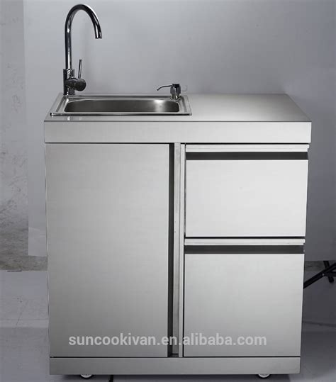 stainless steel sink cabinet stainless steel outdoor sink cabinet with stainless steel