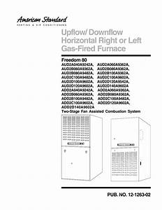 American Standard Air Conditioner Model 2ycx3036a1064aa Wiring Diagram