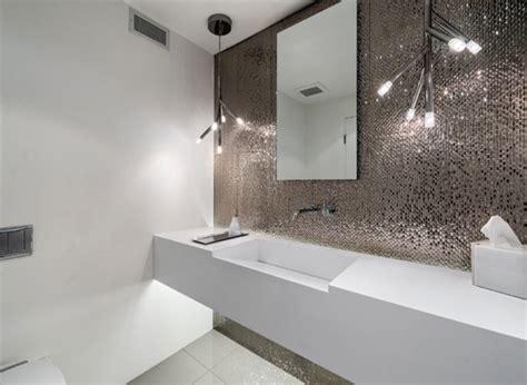 metallic tiles for bathroom cool sleek bathroom remodeling ideas you need now