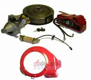 Fit Honda Gx390 13 Hp Electric Start Kit Shroud Starter