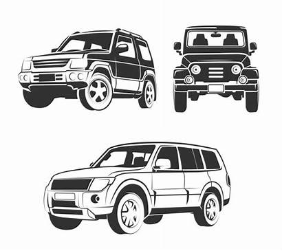 Suv Road Emblems Elements Premium Emblemas Fuera