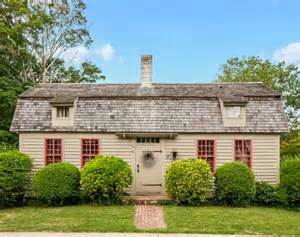 craftsman house plans an historic cape cod cottage for sale in connecticut