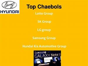 Chaebols in South Korea