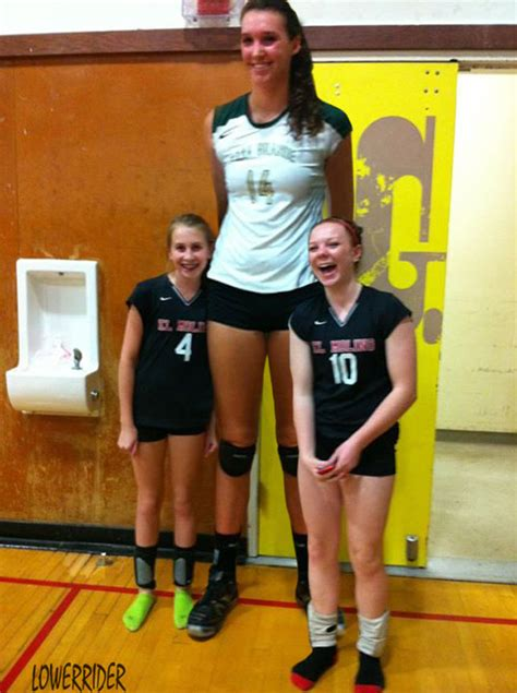 tall volleyball player  lowerrider  deviantart