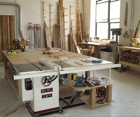 carpenters workshop  garage holzwerkstatt layout