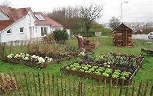 Potager amenagement de jardin for Awesome amenager son jardin en pente 10 creer un jardin en permaculture plan
