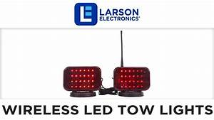 Wireless Led Tow Lights - Battery Operated