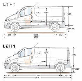 Dimension Jumpy L1h1 Utilitaire : renault trafic camper medidas renault trafic camper campervan van camping und camper ~ Medecine-chirurgie-esthetiques.com Avis de Voitures