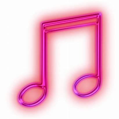 Notes Neon Pink Note Sign Clipart Background