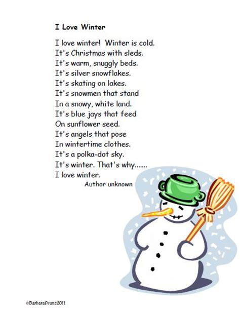 it s about time teachers winter poem freebie 712 | Winter PP 2