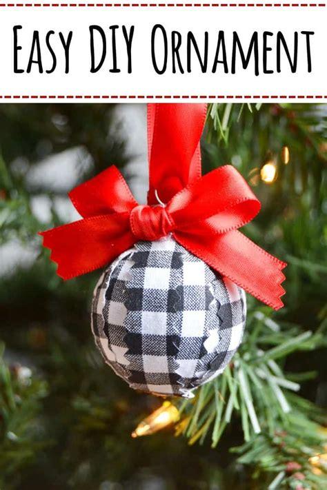 easy diy christmas ornament    minutes kenarry