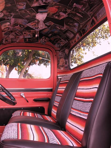 Classic Car Upholstery Supplies by Vintage Truck With Serape Interior I Want A Truck That I
