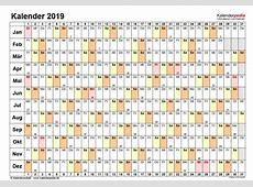 Kalender 2019 PDF Download Freewarede