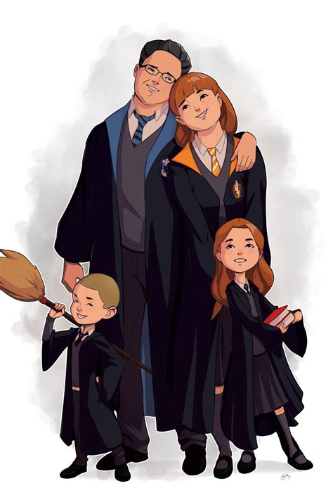 Matthew Orders - Harry Potter Family Portrait Commission