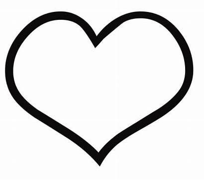 Coloring Hearts Pages Heart Printable Blank Getcoloringpages