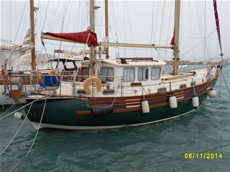The fisher 37 is the epitome of the large, powerful motor sailer. Fairways Marine - FISHER 37 AFT CABIN Sailboat for sale in ...