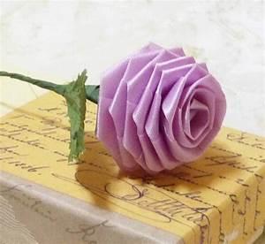 Origami Blumen Falten : origami rose papier falten freshouse ~ Watch28wear.com Haus und Dekorationen