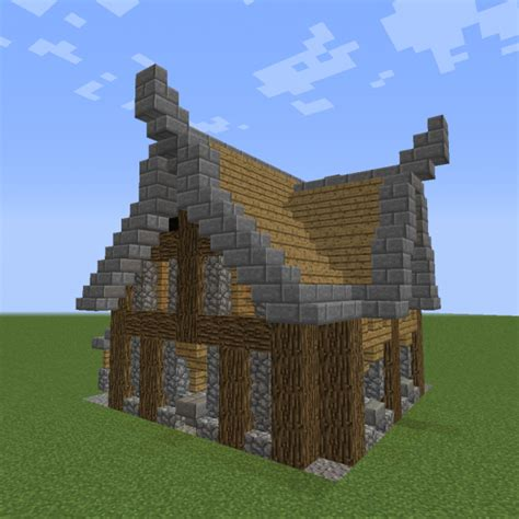 unfurnished nordic home  blueprints  minecraft houses castles towers   grabcraft