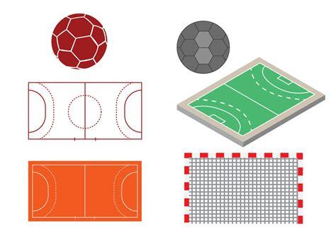 download free vector free handball design vector download free vector art