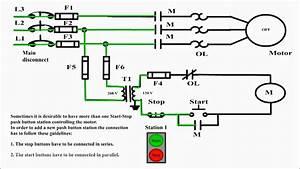 Start Stop Station Wiring Diagram