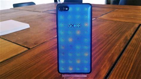 test led le prise en main de l alcatel a5 led le smartphone son et