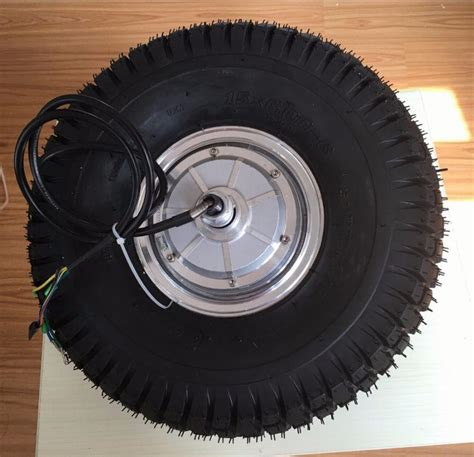 Electric Wheelbarrow Motor 15 Inch 24V 36V 48V 350W-800W ...