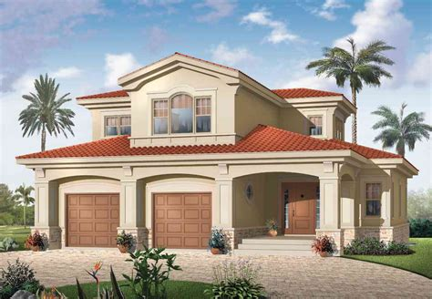 Mediterranean Magic 21583DR Architectural Designs