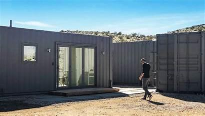 Container Joshua Tree Homes Desert Happymundane Building