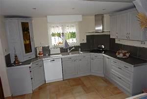 renovation cuisine With renovation meuble cuisine en chene