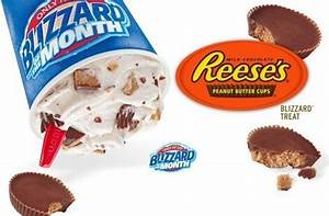 Dairy Queen Releases a Reese's Peanut Butter Blizzard