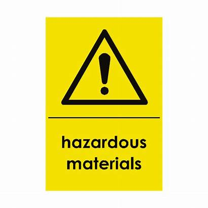 Hazardous Materials Waste Signs Safety Recycling Sticker