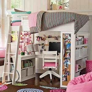 gir pink bedroom study loft bed design the amazing of loft With choose design for bunk beds for girls