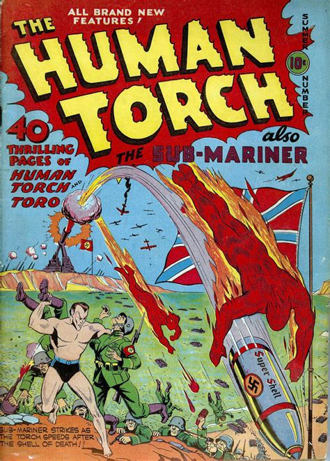 gallery  world war ii superhero comic book covers