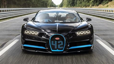 Watch the Bugatti Chiron go from 0-249mph-0 | Top Gear