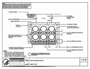 Conduit wall penetration detail dwg