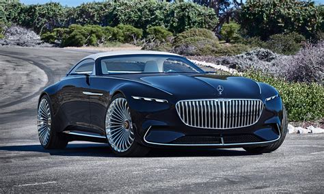 Mercedes-maybach Goes Green With Vision 6 Cabriolet