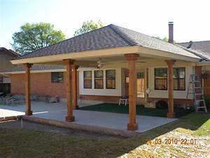 Home Decor: Covered Patio Addition Patio Covers