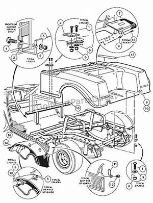 1995 Club Car Parts Diagram 44586 Ciboperlamenteblog It