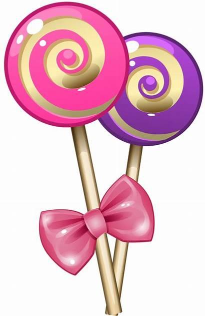 Candy Clipart Clip Transparent Lollipop Scrapbooking Dibujos