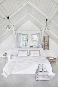 Deco Petite Chambre Adulte : 1001 exemples parfaits d 39 une chambre sous combles ~ Melissatoandfro.com Idées de Décoration