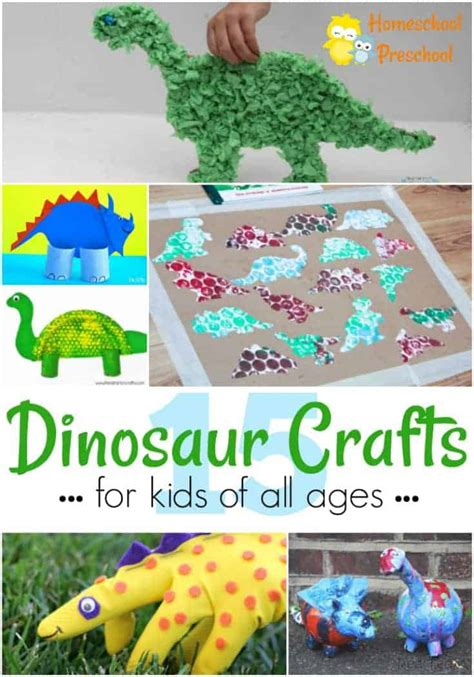 17 easy and dinosaur crafts for of all ages 658 | Dinosaur Crafts