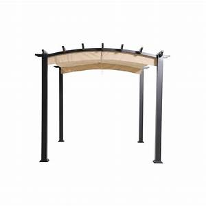 Hampton Bay 9 ft x 9 ft Steel and Aluminum Arched