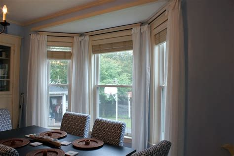Cute Curved Curtain Rod For Bow Window 8 Rods Bay Windows