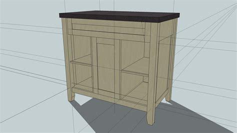 wood bathroom cabinet plans