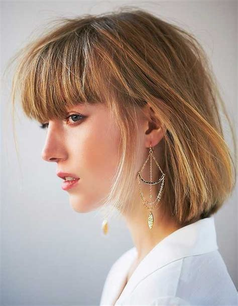 Hairstyles With by Beautiful Bob Hairstyles With Bangs Hairstylesco