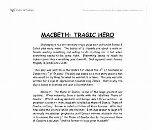 Shakespeare Macbeth Essay Write Papers For You Shakespeare Retold  No Fear Shakespeare Macbeth Essay Examples