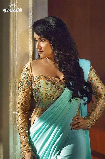 Lena Actress Malayalam Abraham Indian Jinson Grihalakshmi