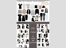 Build Your Perfect Capsule Wardrobe – Curate Your Capsule