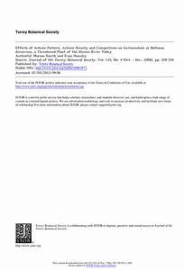Pdf  Effects Of Achene Pattern  Achene Density And