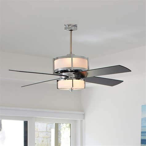 ceiling fans for bedroom upscale modern ceiling fan 2 finishes ceiling fans